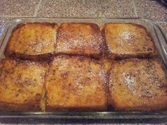 best recipes & cooking: FRENCH TOAST BAKE