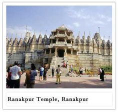 Located halfway between Jodhpur and Udaipur and surrounded by forest, the grand marble temples of Ranakpur constitute a highly recommended stopover.