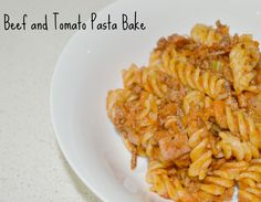 Beef and Tomato Pasta Bake 1