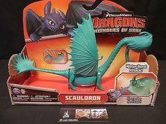 Scauldron How to Train Your Dragon 2 Dreamworks Spin Master NIP Unique Color