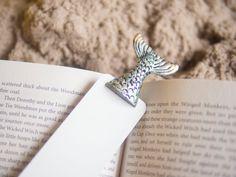 Mermaid tale in the book .Unusual art bookmark. by MyBookmark