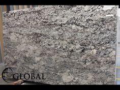New Azul Aran (Lenon) granite slab. Visit globalgranite.com for your natural stone needs.