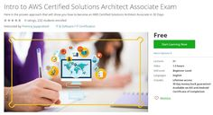 Coupon Udemy - Intro to AWS Certified Solutions Architect Associate Exam [Free] - Course Discounts & Free