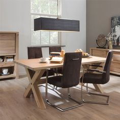 Hoxton Range - The Hoxton range of dining room and occasional furniture is a contemporary design, made from solid Oak with a natural white oil finish that provides a fresh and natural stylish feel to any living area.