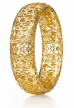 Paloma Picasso's Marrakesh Collection for Tiffany & Co. - 18k yellow gold cuff/bangle.