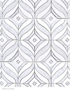 The Mai Tai Carrara pattern with darker grout?