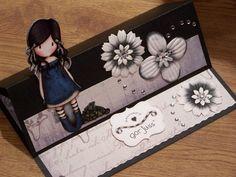 GORJUSS GIRL EASEL CARD by: missychrissie