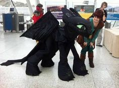 Image result for diy toothless costume