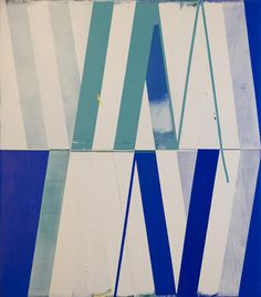Jeff Depner SEQUENCE/DELAY NO.3 acrylic on canvas / 34x30 / 2012
