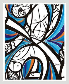 Capoeira - poster   Carré Art