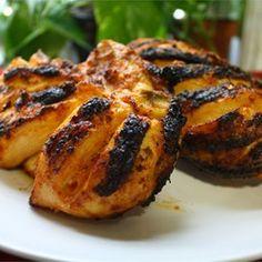 Poulet Piri Piri au barbecue