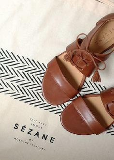 Sézane / Morgane Sézalory Ulysse sandals Collection spring 2014 Taroudant www.sezane.com