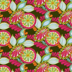 Amy Reber, artist  RETRO pattern #textiles #fabric