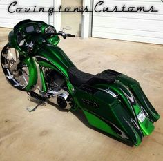Covington Customs baggers do it right