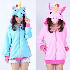 Sudadera Unicornio / Unicorn Hoodie WH043 Kawaii Clothing 0