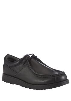 F&F Leather School Shoes