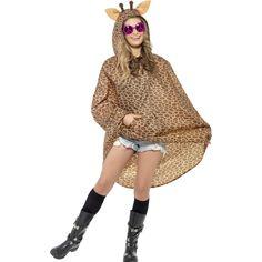 Giraffen Party Poncho Tier Regenponcho Partyponcho Tierkostüm Regencape Kostüm in Kleidung & Accessoires, Kostüme & Verkleidungen, Kostüme   eBay!