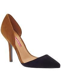Two toned suede heels, C-Label Luxe-23