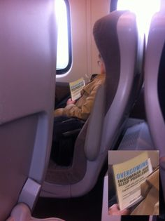 Just saw this woman on the train.  Success!!!  (HT: Reddit,  lefjak03)