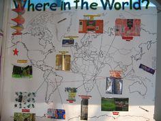Bulletin board - waar komt ons eten vandaan? (aardrijkskunde, Fair Trade, rekenen, ...)