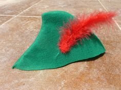 Peter Pan Hat on Etsy, $8.00