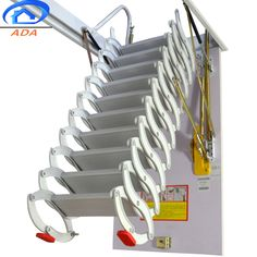 folding attic pull out stairs