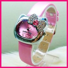 Hello Kitty Watch PINK got it on listia for back up pictures Hello Kitty House, Pink Hello Kitty, Hello Kitty Merchandise, Hello Kitty Themes, Hello Kitty Jewelry, Hello Kitty Pictures, Pink Watch, Hello Kitty Collection, Color Rosa
