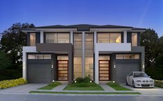 F J C Design And Construction An Experienced Building And Design Company Specialising In A Wide Range Of Bo Townhouse Designs Duplex House Design Duplex Design