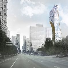 Japanese architect Kengo Kuma has revealed plans for his first tall building in North America – a residential tower in Vancouver with a curved silhouette