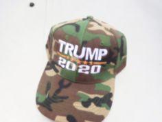 2cf20b8edca donald trump 20 20 hat CAMO 10.00 free shipping GO TRUMP!