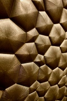 ICFF bronze wall covering (panel) form  New York