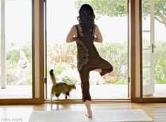A Room of Ones Om - just reading this now, but I completely agree :) I love having a room just for yoga.