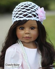 awesome NWT Masterpiece Dolls AFRO-AMERICAN Kaylee By Monika Levenig Collectible 34 - For Sale Check more at http://shipperscentral.com/wp/product/nwt-masterpiece-dolls-afro-american-kaylee-by-monika-levenig-collectible-34-for-sale/