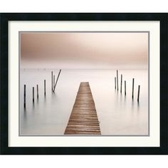 Amanti Art 'Lake Walk I' by Jonathan Chritchley Framed Painting Print