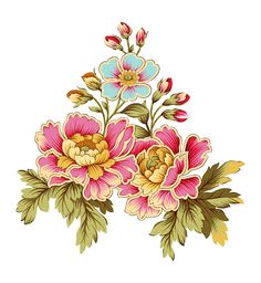 92 D Flowers, Flowers Nature, Elephant Coloring Page, Flower Art Images, Fabric Print Design, Paisley Art, Leaf Wall Art, Decoupage Art, Album Design