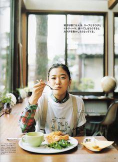happy dining :D // Yū Aoi / 蒼井優