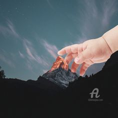 710,94$US · Digital Arts, Photo Montage by Apollloneva (Viktoria S.) (Russie). Buy the original 710,94$US, including shipping (Russie) via #Artmajeur. Prints available from 34,08$US via #Artmajeur. Licenses available from 179$US via #Artmajeur. #Digital Arts #2DDigitalWork #PhotoMontage #ConceptualArt #Mountainscape #Children #Landscape #Nature #Пейзаж #Горы #Дети #Ребенок Pop Art, Photo Montage, Art Original, Conceptual Art, Digital Art, Landscape, The Originals, Children, Nature