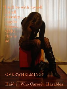 Haidji: Overwhelming - Book Quote - Who Cares? - Harables ...