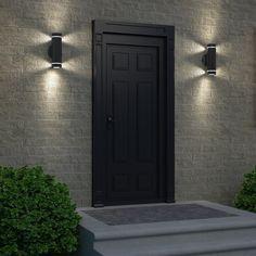 Outside Lights On House, Outdoor Garage Lights, Garage Lighting, Outdoor Wall Lighting, Outdoor Walls, Cottage Lighting, Sconce Lighting, Indoor Outdoor, Outside Light Fixtures