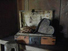 Tin heart pan
