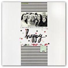 Happy by Jody Wenke - Scrapbook.com