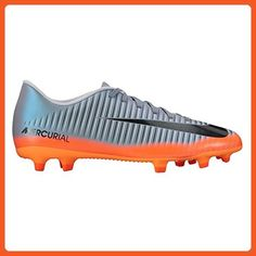 more photos c456a 10907 MercurialX Vortex III CR7 (FG)Firm Ground Football Boots - Cool Grey -  Athletic