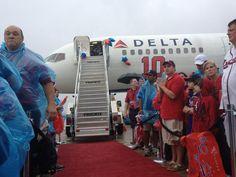 Delta's tribute to Chipper