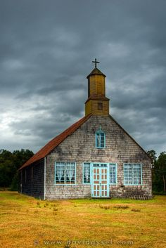 Chiloe Architecture - country church