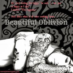 """News: Divulgado novo trecho de """"Beautiful Oblivion"""", 1º livro da série Maddox Brothers, de Jamie McGuire"""