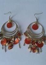 Hübsche Ohrringe im Orientalischen Style