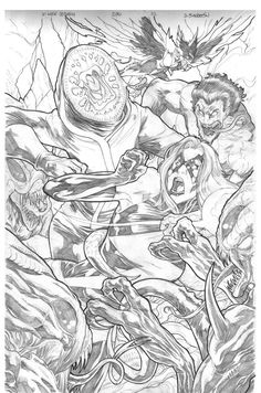 Check out this sketch from X-MEN LEGACY!