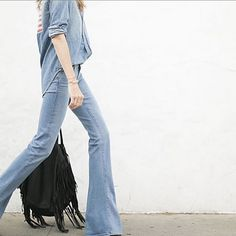 The Fiona Flare from @paigedenim # bellbottom #paige