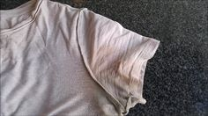 How to remove yellow sweat stains from your clothes