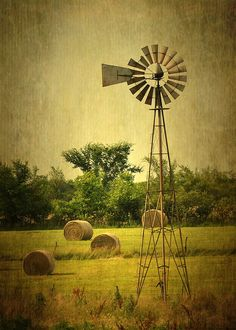 Windmill | Flickr - Photo Sharing! Windmill Art, Farm Windmill, Old Windmills, Scenery Pictures, Nature Pictures, Cool Pictures, History Of Photography, Travel Photography, Water Tower